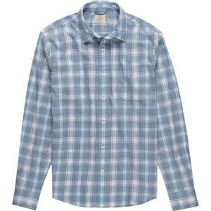 Faherty Movement Melange Shirt - Mens