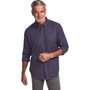 Faherty Stretch Featherweight Flannel Shirt - Mens