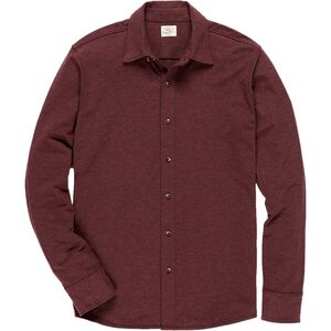Faherty Stretch Knit Shirt - Mens