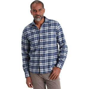 Faherty Stretch Seaview Flannel Shirt - Mens