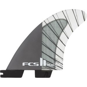 FCS II Reactor Performance Core Carbon Tri Surfboard Fins