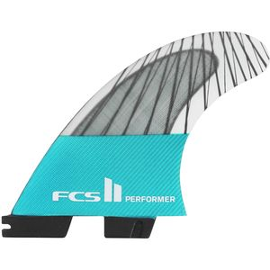 FCS Performer II Performance Core Carbon Surfboard Fins