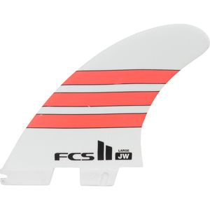 FCS Julian Wilson Performance Glass Tri Surfboard Fins