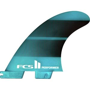 FCS II Performer Neo Glass Tri Surfboard Fins
