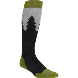 FITS Light Ski Over-The-Calf Sock - Pine Trees