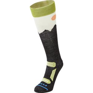 FITS Ultra Light Ski Over-The-Calf Mountain Sock