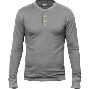 Fjallraven Lappland Merino Henley Long-Sleeve Top - Men's