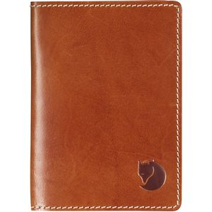 Fjallraven Leather Passport Cover  - Men's