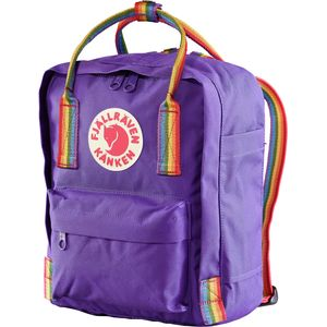 Fjallraven Kanken Rainbow Mini 7L Backpack