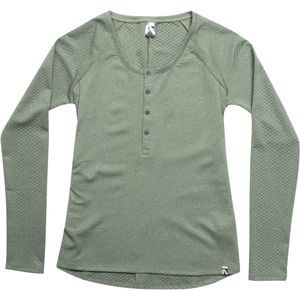 FlyLow Gear Andrea Henley Shirt - Long-Sleeve - Women's