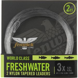 Fenwick World Class Freshwater Leader - 2 Pack
