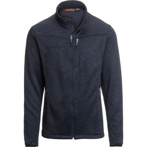 Free Country Melange Knit Fleece Jacket - Men's