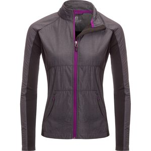 Free Country Melange Woven Jacket with Color Trim - Women's