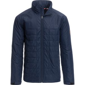 Free Country Lightweight Solid Blocked Puffer Jacket - Men's
