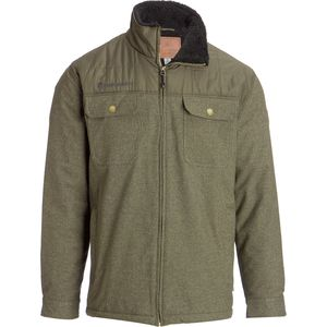 Free Country Quilted Lined Jacket with Chest Pockets - Men's