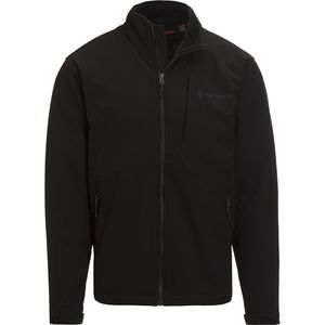 Free Country Soft Shell Jacket With Sherpa Lining - Men's
