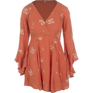 Free People Rayon Gauze Jasmine Embroidered Mini Dress - Women's