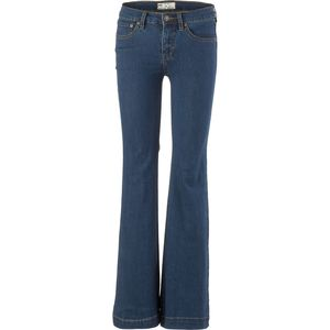 Free People Clean Mid-Rise Flare Denim Pant - Women's