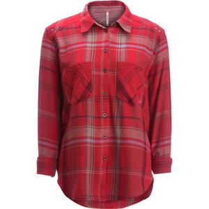 Free People Wesley Plaid Button-Down Shirt  - Women's