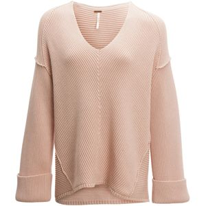 Free People La Brea V-Neck Sweater - Women's