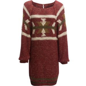 Free People Northern Lights Sweater Mini Dress - Women's