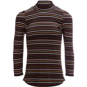 Free People I'm Cute Striped Turtleneck - Women's