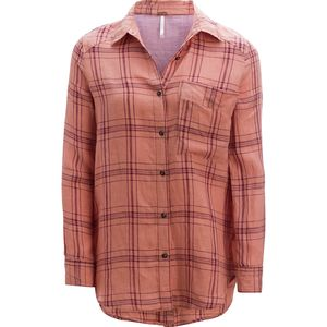 Free People No Limits Plaid Shirt - Women's