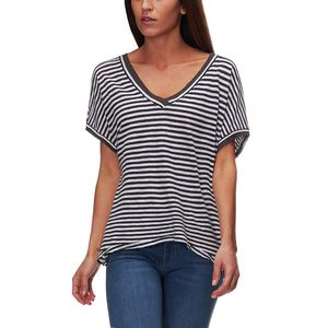 Free People Take Me Short-Sleeve Striped T-Shirt - Women's