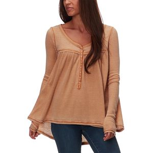 Free People Kai Long-Sleeve Henley - Women's