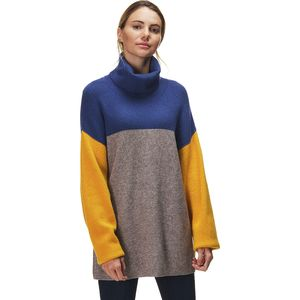 Free People Softly Structured Color Block Sweater - Women's