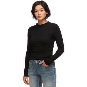 Free People Lindsey Mock Neck Top - Women's