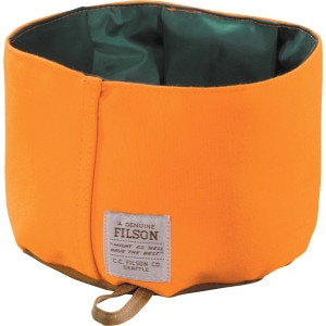 Filson Tin Cloth Dog Bowl