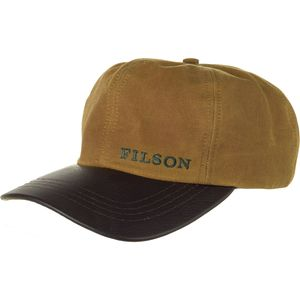 Filson Tin Cloth Leather Cap