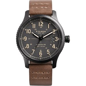 Filson Mackinaw Field 38mm Leather Watch - Women's