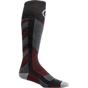 Farm To Feet Park City Midweight Chevron Knit Ski Sock