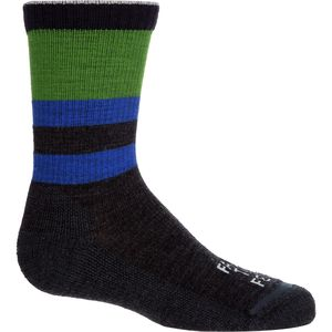 Farm To Feet Everyday Petaluma Rib Stripe Sock - Boys'