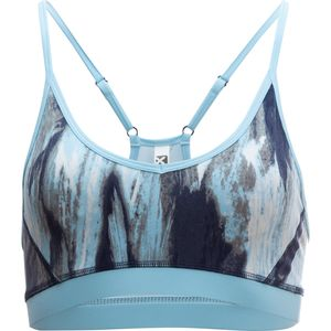 4-U Performance Printed Nylon Spandex Mesh Bra - Women's