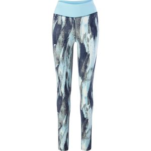 4-U Performance Printed Nylon Spandex Mesh Legging - Women's