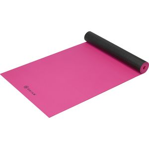 Gaiam 5mm Solid Two-Sided Yoga Mat