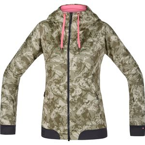 Gore Bike Wear Power Trail WindStopper Hooded Softshell Jacket - Women's