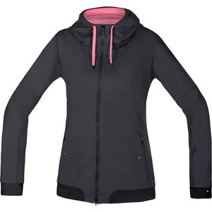 Gore Bike Wear Power Trail Lady WindStopper Hooded Softshell Jacket - Women's