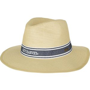 Guy Harvey Headwear Paper Straw Hat with Ribbon