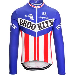 Giordana Team Thermosquare Brooklyn Jersey - Long Sleeve - Men's