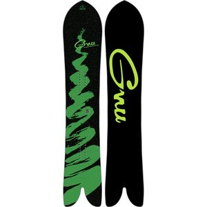 Gnu Swallow Tail Carver Snowboard - Men's