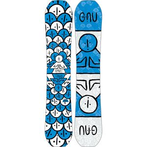 Gnu Forest Bailey Head Space Snowboard - Wide