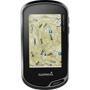 Garmin Oregon 750t, With TOPO U.S. 100K