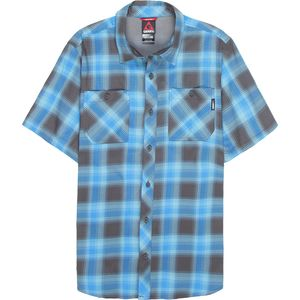 Gerry Plaid Insight Travel Short-Sleeve Shirt - Men's