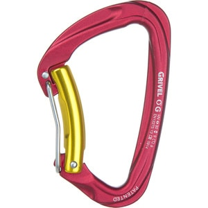 Grivel Sigma Wire D Twin Gate Carabiner