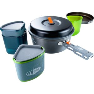 GSI Outdoors Pinnacle Backpacker Cookware Set