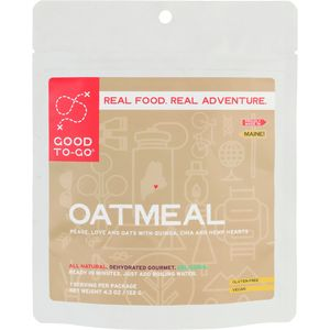 Good To-Go Oatmeal Single Serving Breakfast Entree